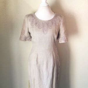 Marie St. Claire, Size 10, Dress Embroider